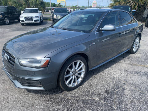 2015 Audi A4 for sale at Castle Used Cars in Jacksonville FL