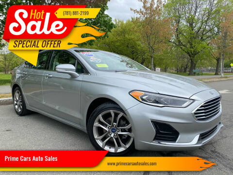 2020 Ford Fusion for sale at Prime Cars Auto Sales in Saugus MA