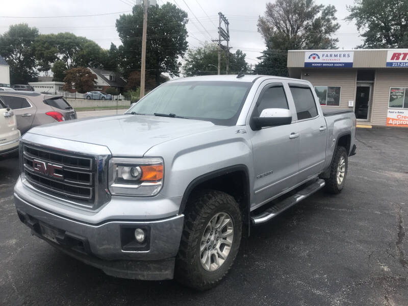 2014 GMC Sierra 1500 for sale at RT Auto Center in Quincy IL