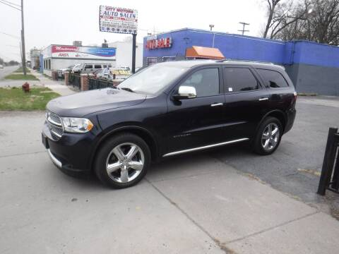 2011 Dodge Durango for sale at City Motors Auto Sale LLC in Redford MI