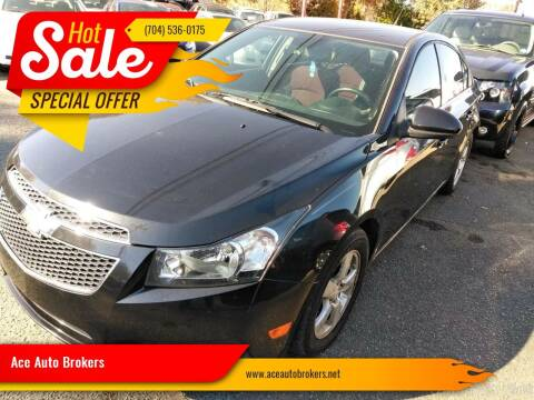 2014 Chevrolet Cruze for sale at Ace Auto Brokers in Charlotte NC