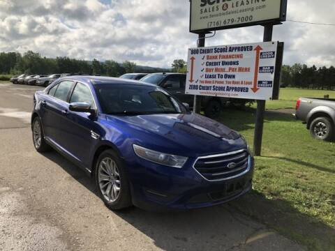 2014 Ford Taurus for sale at Sensible Sales & Leasing in Fredonia NY
