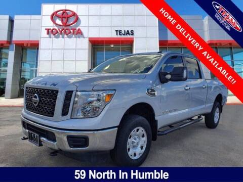 2019 Nissan Titan XD for sale at TEJAS TOYOTA in Humble TX
