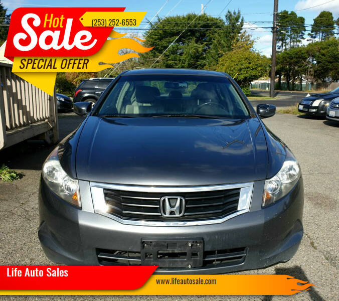 2008 Honda Accord for sale at Life Auto Sales in Tacoma WA