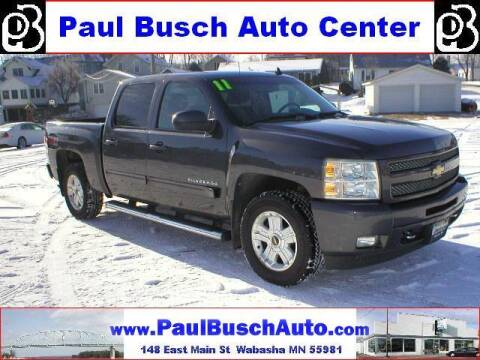 2011 Chevrolet Silverado 1500 for sale at Paul Busch Auto Center Inc in Wabasha MN