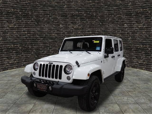 2015 Jeep Wrangler Unlimited for sale at Montclair Motor Car in Montclair NJ