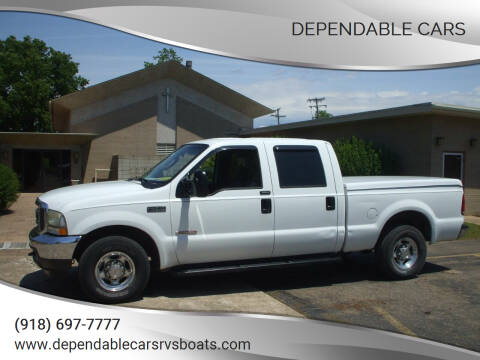 2004 Ford F-250 Super Duty for sale at DEPENDABLE CARS in Mannford OK