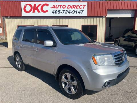 2012 Honda Pilot for sale at OKC Auto Direct in Oklahoma City OK