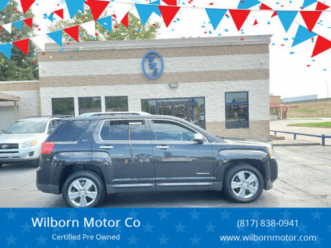 2015 GMC Terrain for sale at Wilborn Motor Co in Fort Worth TX