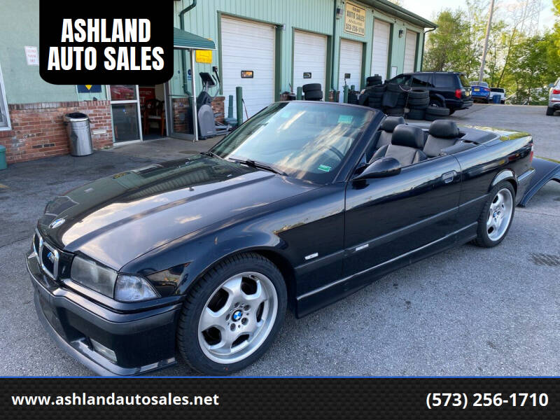 1999 BMW M3 for sale at ASHLAND AUTO SALES in Columbia MO