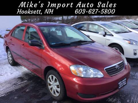 2008 Toyota Corolla for sale at Mikes Import Auto Sales INC in Hooksett NH