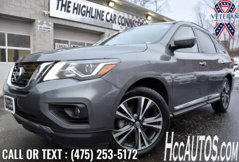 2020 Nissan Pathfinder for sale at The Highline Car Connection in Waterbury CT