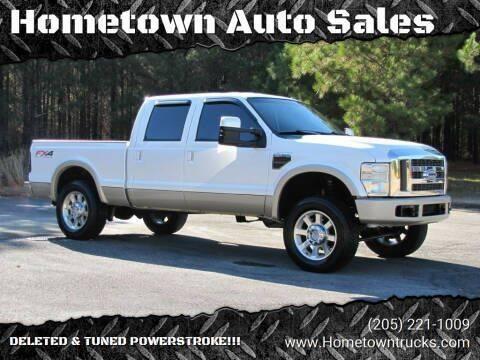 2010 Ford F-250 Super Duty for sale at Hometown Auto Sales - Trucks in Jasper AL