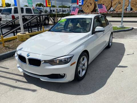 2014 BMW 3 Series for sale at Navarro Auto Motors in Hialeah FL