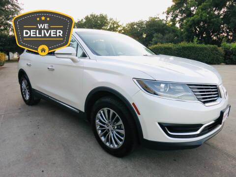 2018 Lincoln MKX for sale at Auto Genius in Dallas TX