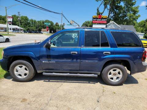 2002 Chevrolet TrailBlazer for sale at Autoxport in Newport News VA