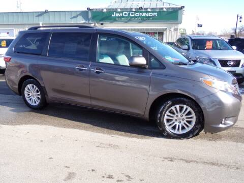 2016 Toyota Sienna for sale at Jim O'Connor Select Auto in Oconomowoc WI