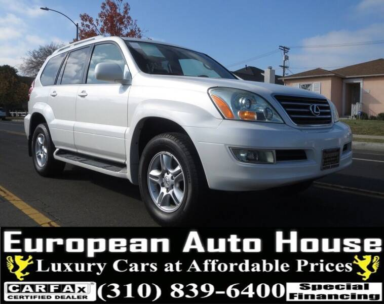 2006 Lexus GX 470 for sale at European Auto House in Los Angeles CA