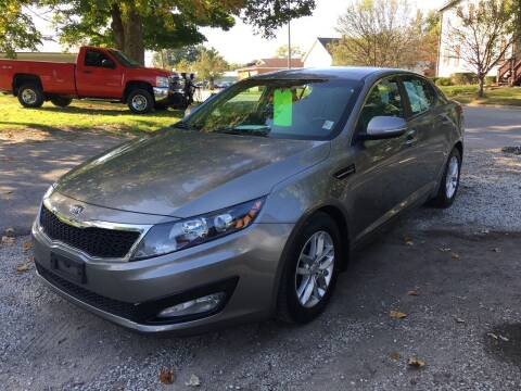 2013 Kia Optima for sale at Antique Motors in Plymouth IN