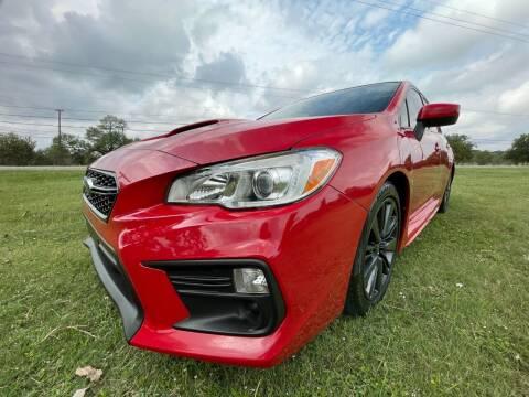 2018 Subaru WRX for sale at Carz Of Texas Auto Sales in San Antonio TX