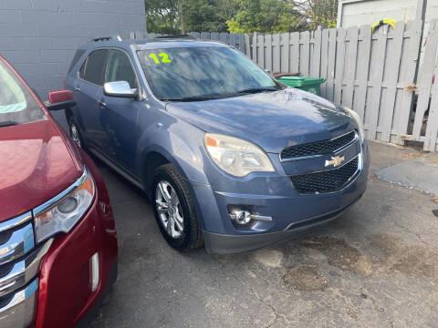 2012 Chevrolet Equinox for sale at Lee's Auto Sales in Garden City MI
