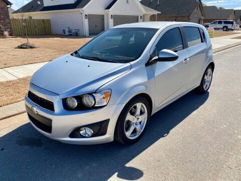2013 Chevrolet Sonic for sale at Champion Motorcars in Springdale AR