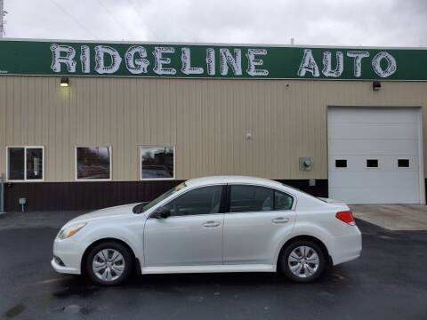 2013 Subaru Legacy for sale at RIDGELINE AUTO in Chubbuck ID