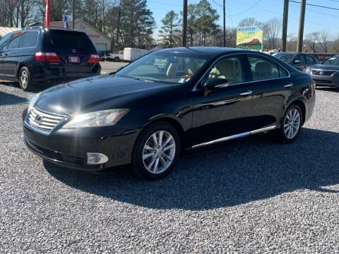 2010 Lexus ES 350 for sale at MOUNTAIN CITY MOTORS INC in Dalton GA