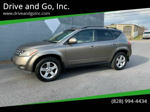 2004 Nissan Murano for sale at Drive and Go, Inc. in Hickory NC