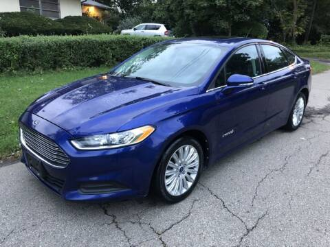 2013 Ford Fusion Hybrid for sale at Urban Motors llc. in Columbus OH