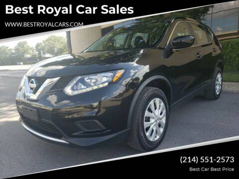 2016 Nissan Rogue for sale at Best Royal Car Sales in Dallas TX