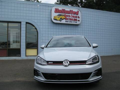 2018 Volkswagen Golf GTI for sale at Unlimited Auto Sales & Detailing, LLC in Windsor Locks CT
