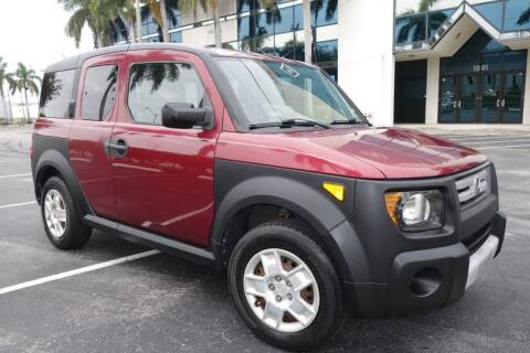 2007 Honda Element for sale at SR Motorsport in Pompano Beach FL