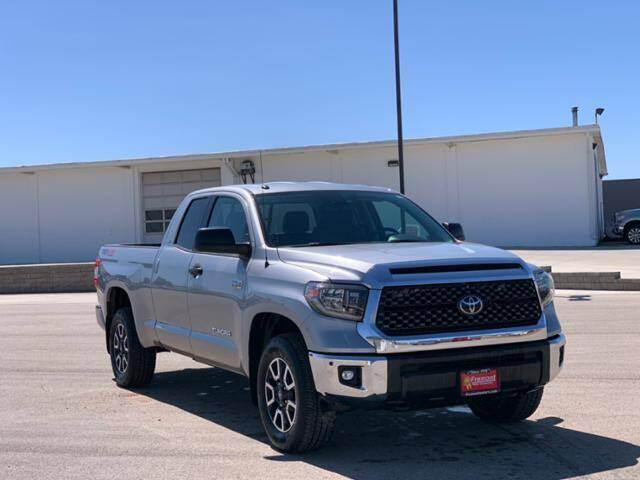 2018 Toyota Tundra for sale at Rocky Mountain Commercial Trucks in Casper WY