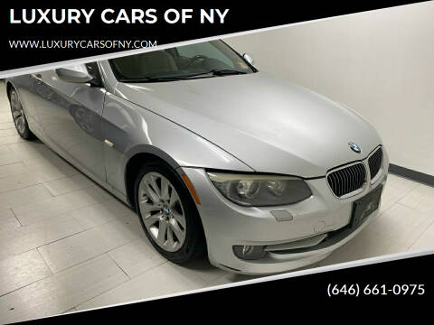 2011 BMW 3 Series for sale at LUXURY CARS OF NY in Queens NY