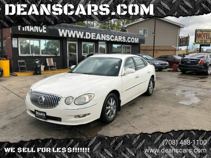 2008 Buick LaCrosse for sale at DEANSCARS.COM in Bridgeview IL