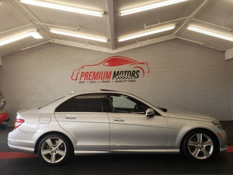 2011 Mercedes-Benz C-Class for sale at Premium Motors in Villa Park IL