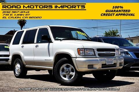 2000 Isuzu Trooper for sale at Road Motors Imports in El Cajon CA