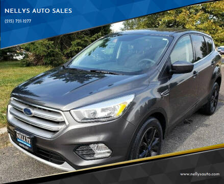 2017 Ford Escape for sale at NELLYS AUTO SALES in Souderton PA