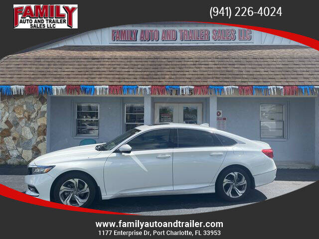 2018 Honda Accord for sale at Family Auto and Trailer Sales LLC in Port Charlotte FL