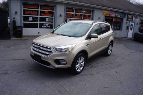 2018 Ford Escape for sale at Autos By Joseph Inc in Highland NY