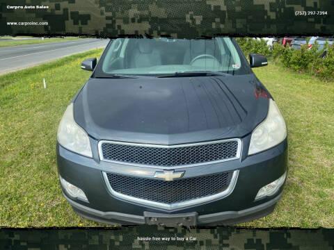 2010 Chevrolet Traverse for sale at Carpro Auto Sales in Chesapeake VA