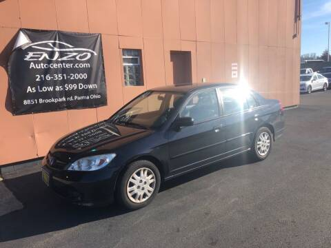 2004 Honda Civic for sale at ENZO AUTO in Parma OH
