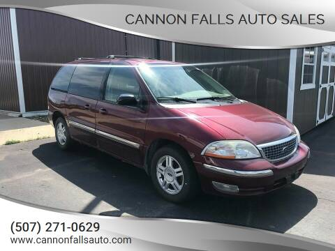 2001 Ford Windstar for sale at Cannon Falls Auto Sales in Cannon Falls MN