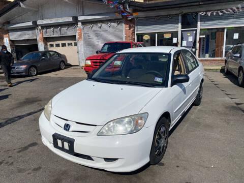 2005 Honda Civic for sale at Rallye  Motors inc. in Newark NJ