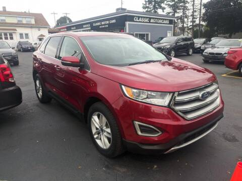 2015 Ford Edge for sale at CLASSIC MOTOR CARS in West Allis WI