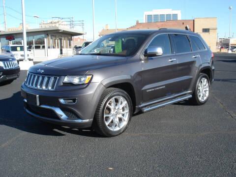 2015 Jeep Grand Cherokee for sale at Shelton Motor Company in Hutchinson KS