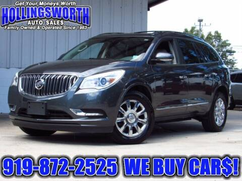 2014 Buick Enclave for sale at Hollingsworth Auto Sales in Raleigh NC