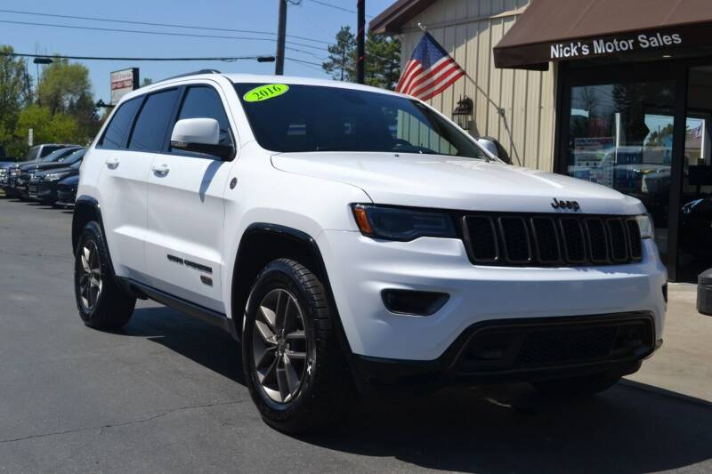 2016 Jeep Grand Cherokee for sale at Nick's Motor Sales LLC in Kalkaska MI