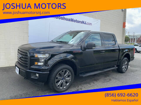 2017 Ford F-150 for sale at JOSHUA MOTORS in Vineland NJ